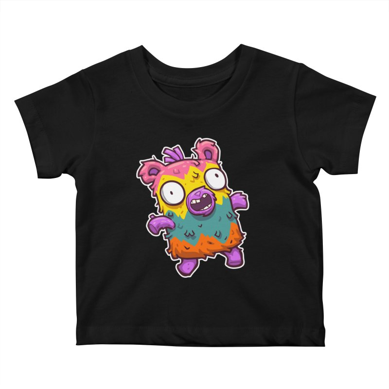 Burrito Bison - Punched Piñata Kids Baby T-Shirt by The Juicy Beast shop!