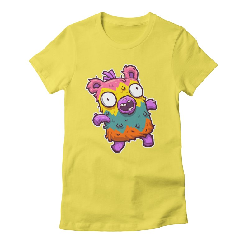 Burrito Bison - Punched Piñata Women's T-Shirt by The Juicy Beast shop!