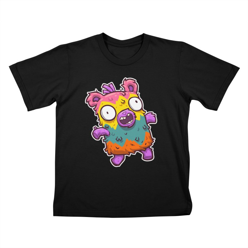 Burrito Bison - Punched Piñata Kids T-Shirt by The Juicy Beast shop!