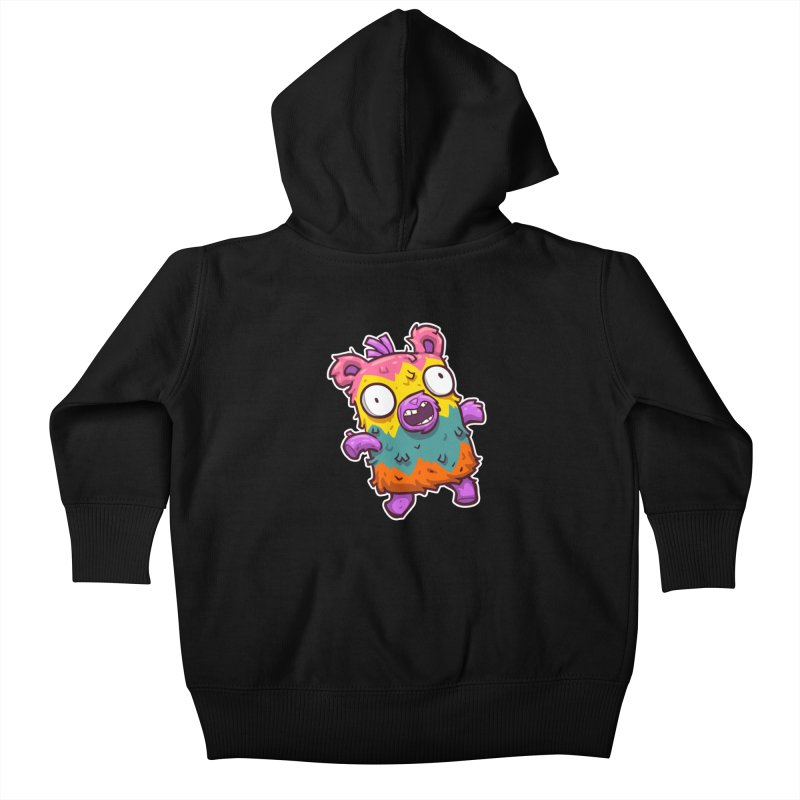 Burrito Bison - Punched Piñata Kids Baby Zip-Up Hoody by The Juicy Beast shop!