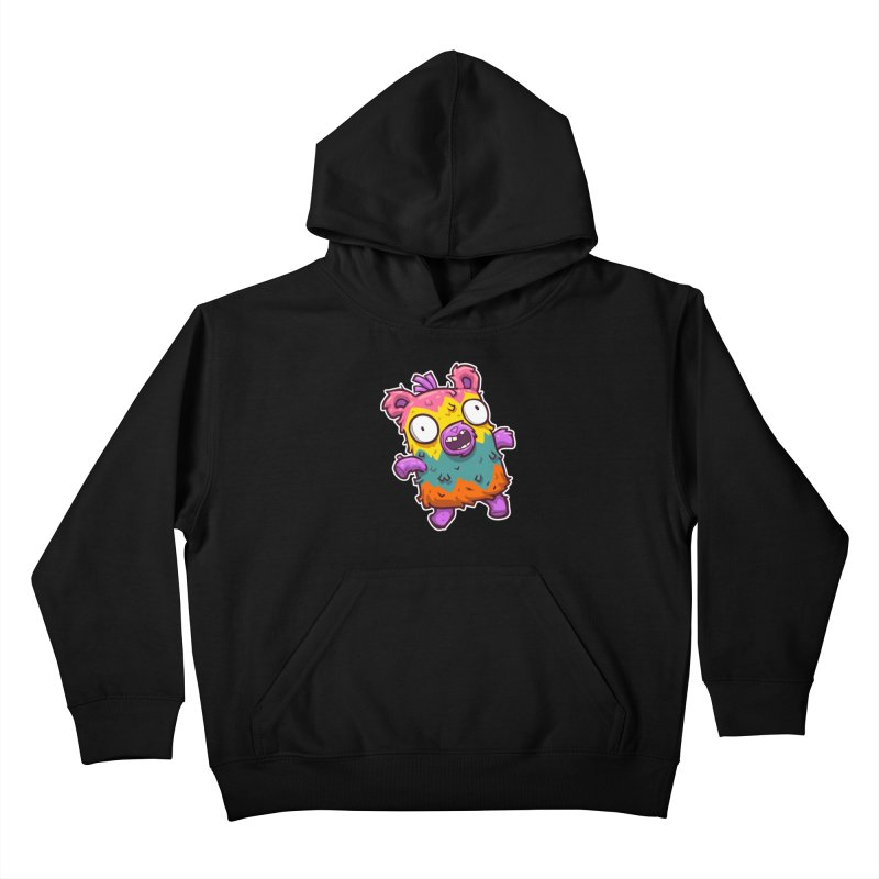 Burrito Bison - Punched Piñata Kids Pullover Hoody by The Juicy Beast shop!