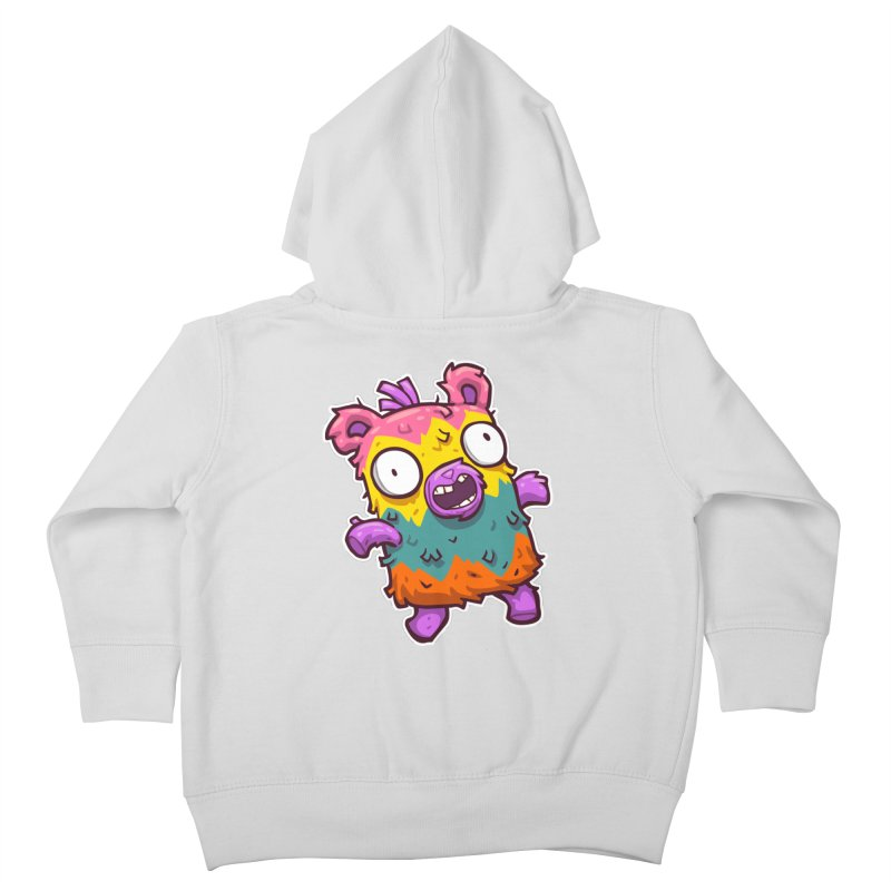 Burrito Bison - Punched Piñata Kids Toddler Zip-Up Hoody by The Juicy Beast shop!