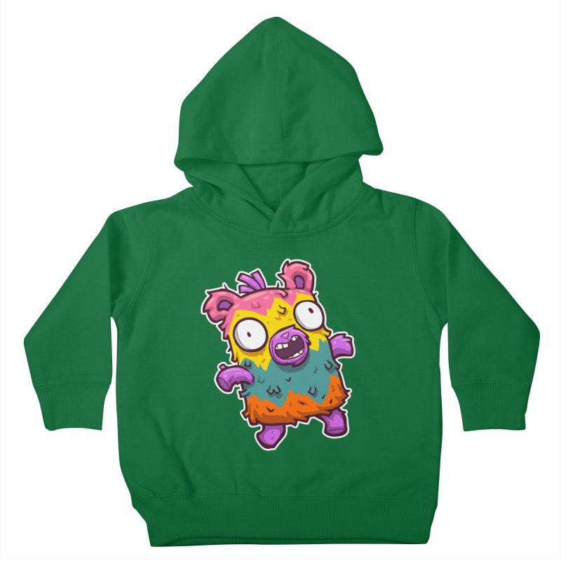 Burrito Bison - Punched Piñata Kids Toddler Pullover Hoody by The Juicy Beast shop!