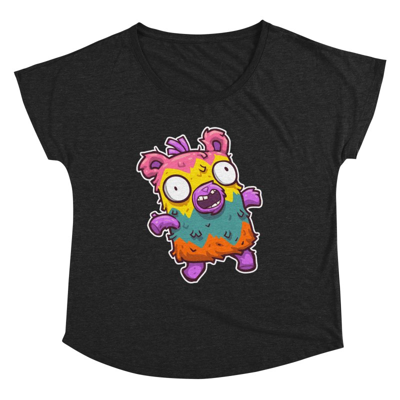 Burrito Bison - Punched Piñata Women's Dolman Scoop Neck by The Juicy Beast shop!