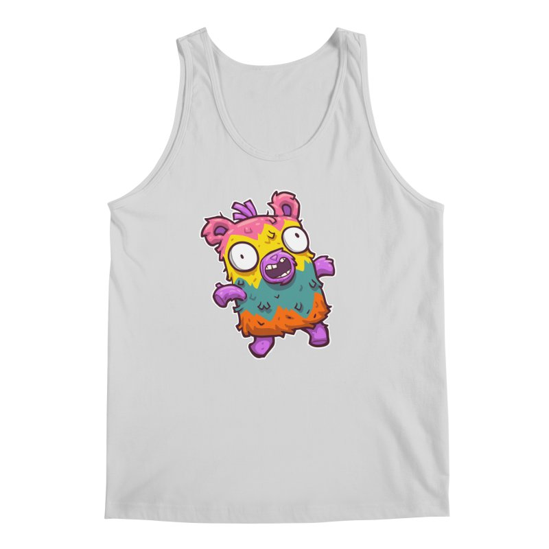 Burrito Bison - Punched Piñata Men's Regular Tank by The Juicy Beast shop!