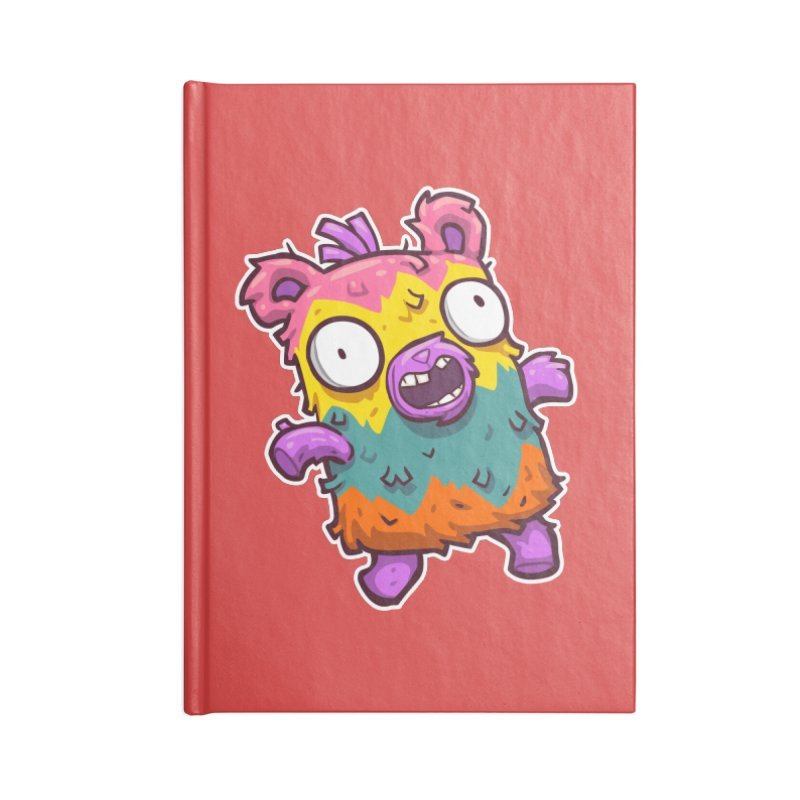Burrito Bison - Punched Piñata Accessories Lined Journal Notebook by The Juicy Beast shop!