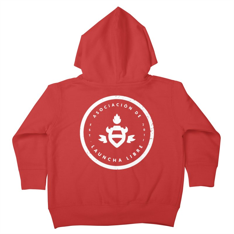 Burrito Bison - Asociación de Launcha Libre Kids Toddler Zip-Up Hoody by The Juicy Beast shop!