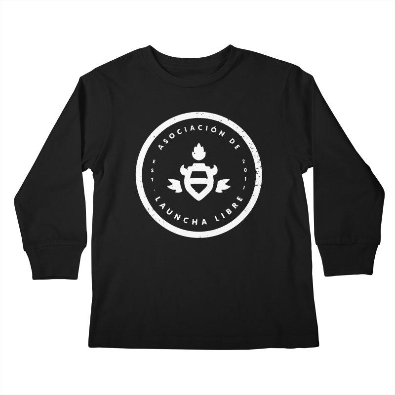 Burrito Bison - Asociación de Launcha Libre Kids Longsleeve T-Shirt by The Juicy Beast shop!