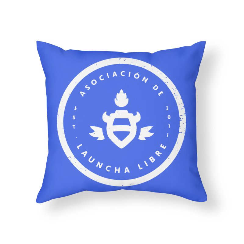 Burrito Bison - Asociación de Launcha Libre Home Throw Pillow by The Juicy Beast shop!