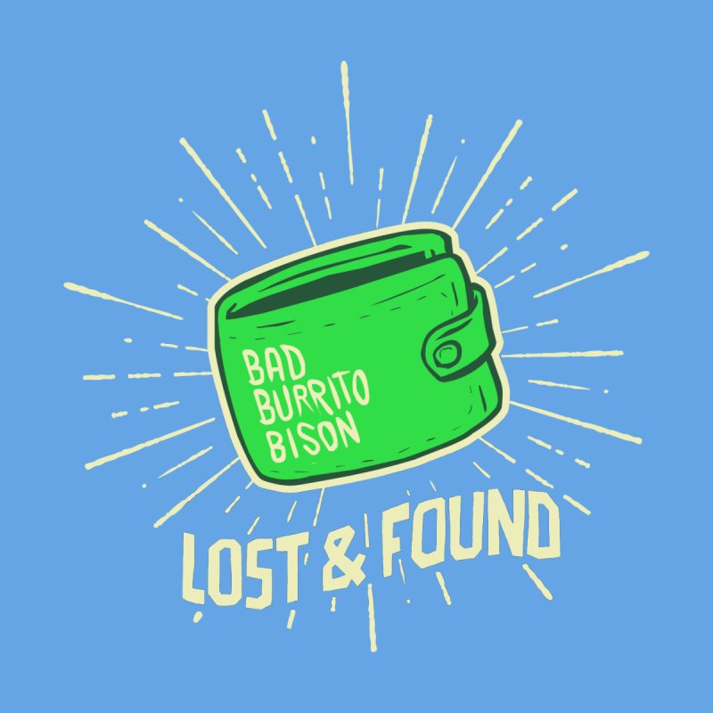 Burrito Bison - Lost & Found Men's Zip-Up Hoody by The Juicy Beast shop!