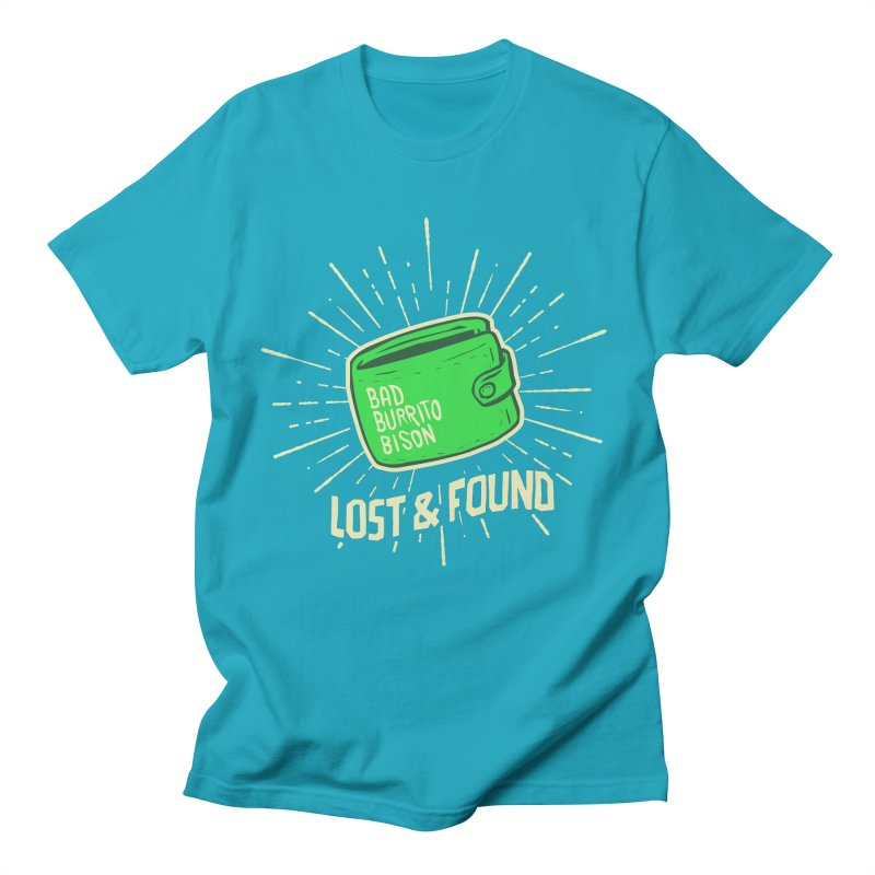Burrito Bison - Lost & Found Men's T-Shirt by The Juicy Beast shop!