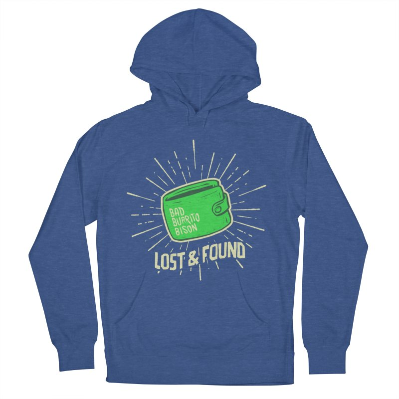 Burrito Bison - Lost & Found Men's Pullover Hoody by The Juicy Beast shop!