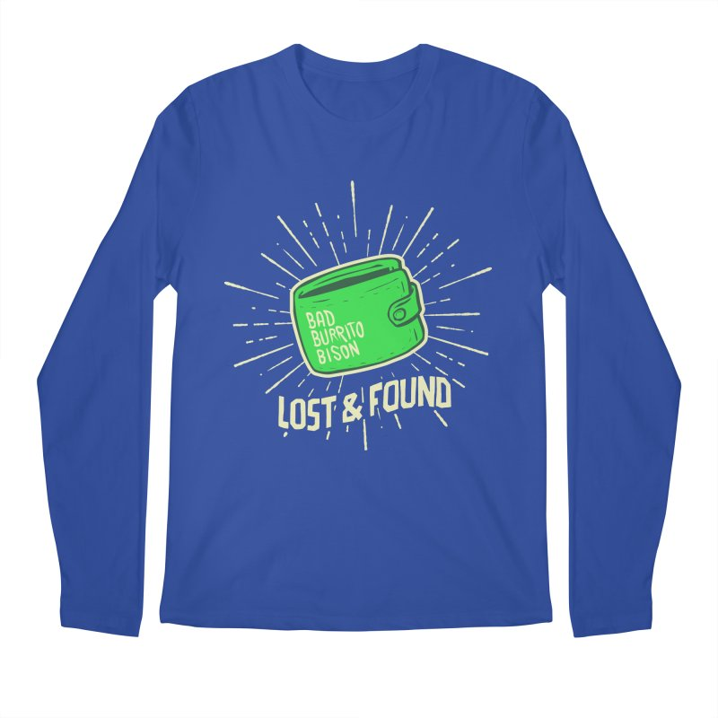 Burrito Bison - Lost & Found Men's Regular Longsleeve T-Shirt by The Juicy Beast shop!