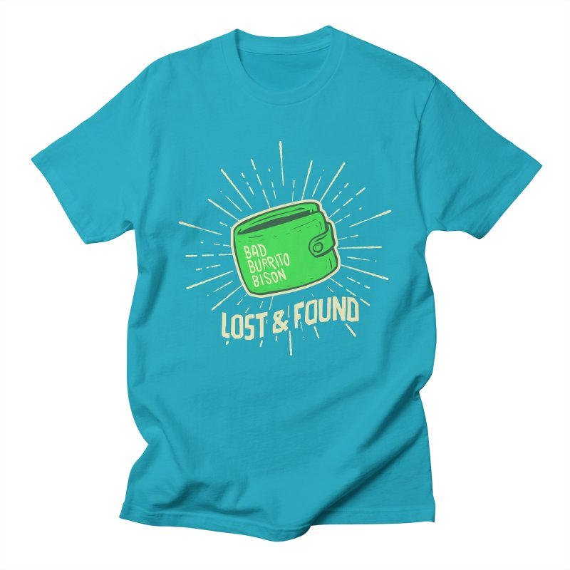 Burrito Bison - Lost & Found Men's Regular T-Shirt by The Juicy Beast shop!
