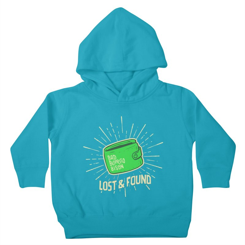 Burrito Bison - Lost & Found Kids Toddler Pullover Hoody by The Juicy Beast shop!