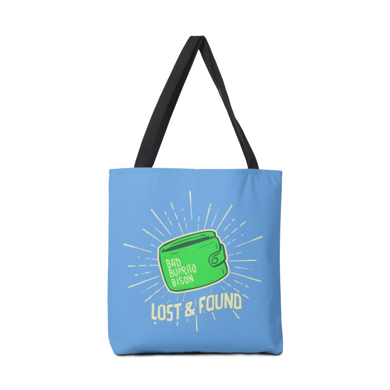 Burrito Bison - Lost & Found Accessories Tote Bag Bag by The Juicy Beast shop!