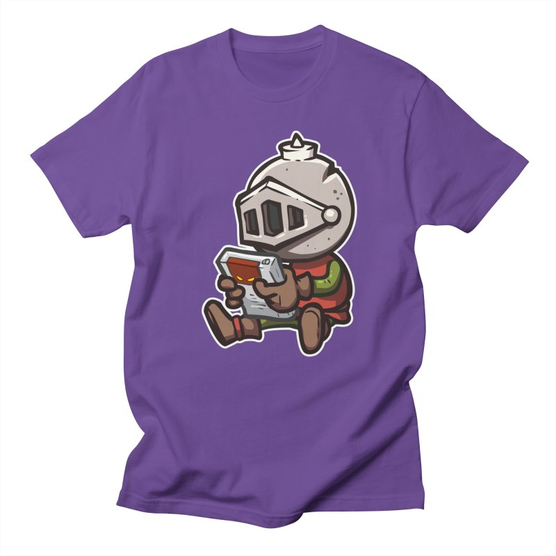 Knightmare Tower - Retro Gaming in Men's Regular T-Shirt Purple by The Juicy Beast shop!