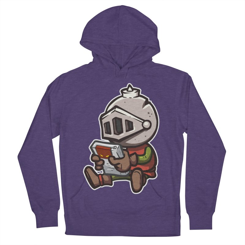 Knightmare Tower - Retro Gaming Men's French Terry Pullover Hoody by The Juicy Beast shop!