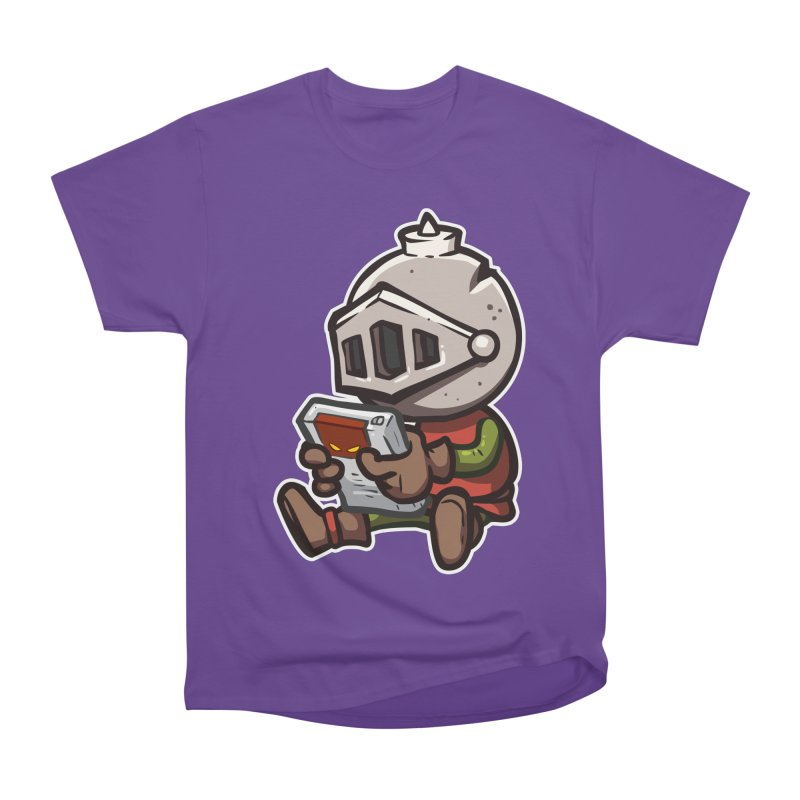 Knightmare Tower - Retro Gaming Women's Heavyweight Unisex T-Shirt by The Juicy Beast shop!