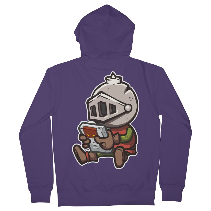 Knightmare Tower - Retro Gaming Women's French Terry Zip-Up Hoody by The Juicy Beast shop!