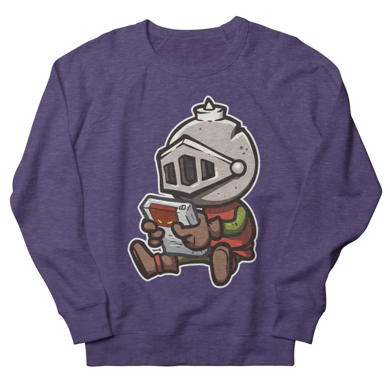 Knightmare Tower - Retro Gaming Women's French Terry Sweatshirt by The Juicy Beast shop!