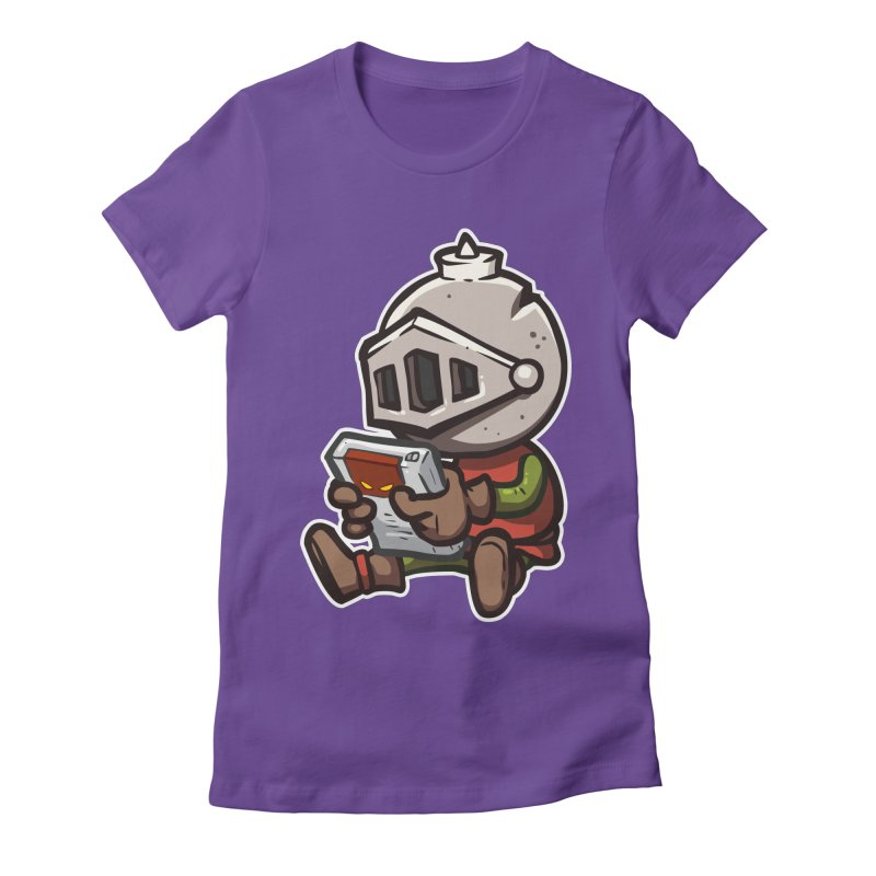 Knightmare Tower - Retro Gaming Women's Fitted T-Shirt by The Juicy Beast shop!