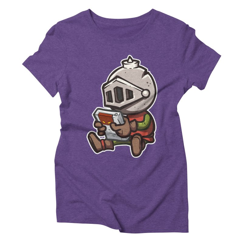 Knightmare Tower - Retro Gaming Women's Triblend T-Shirt by The Juicy Beast shop!