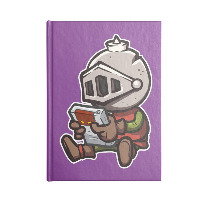 Knightmare Tower - Retro Gaming Accessories Lined Journal Notebook by The Juicy Beast shop!