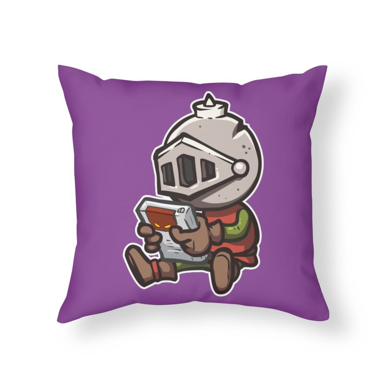 Knightmare Tower - Retro Gaming Home Throw Pillow by The Juicy Beast shop!