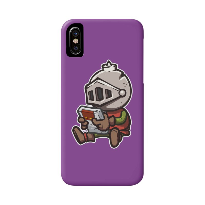 Knightmare Tower - Retro Gaming Accessories Phone Case by The Juicy Beast shop!