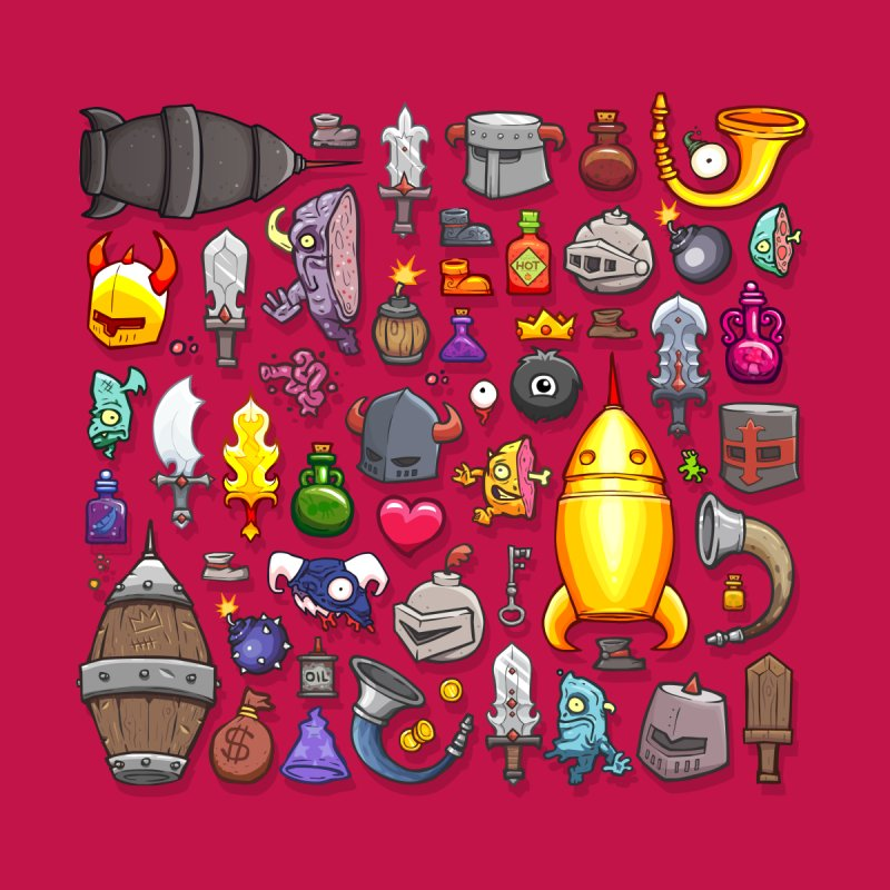 Knightmare Tower - Inventory by The Juicy Beast shop!