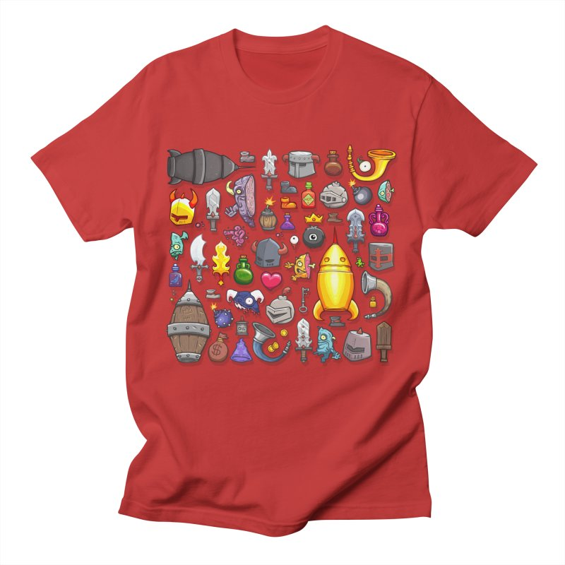 Knightmare Tower - Inventory Men's T-Shirt by The Juicy Beast shop!