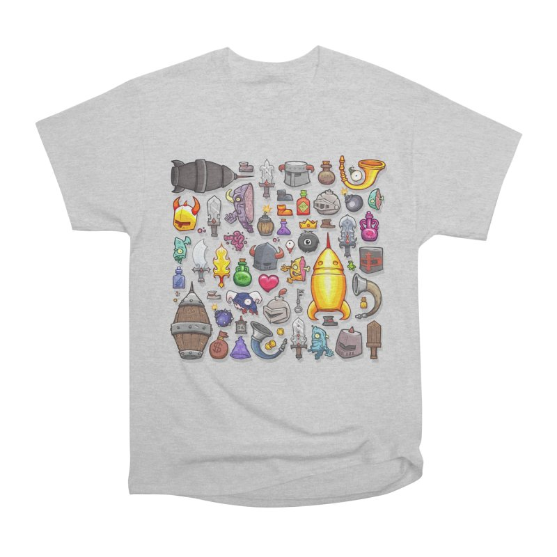 Knightmare Tower - Inventory Men's Heavyweight T-Shirt by The Juicy Beast shop!