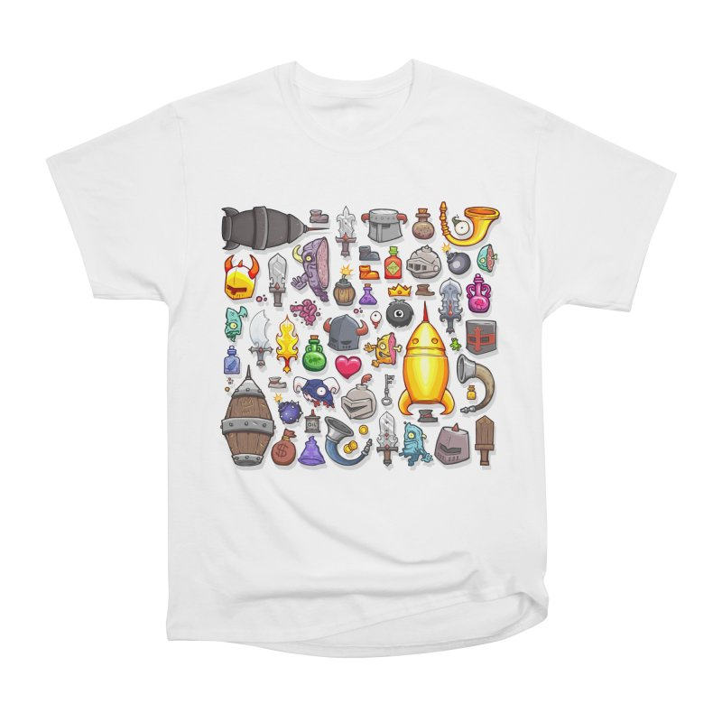 Knightmare Tower - Inventory Women's Heavyweight Unisex T-Shirt by The Juicy Beast shop!