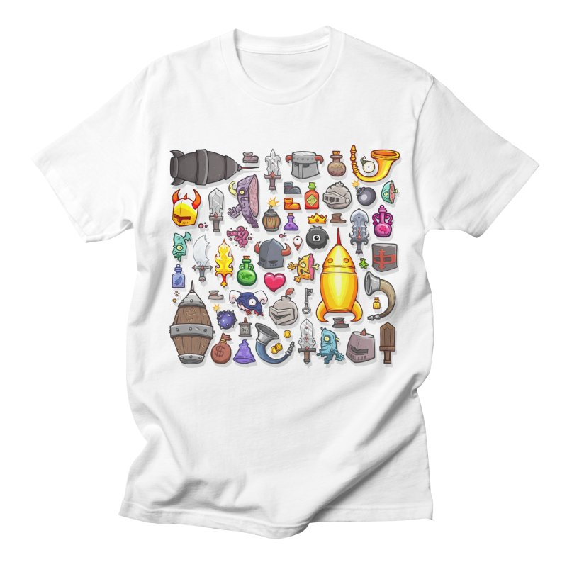 Knightmare Tower - Inventory Men's Regular T-Shirt by The Juicy Beast shop!