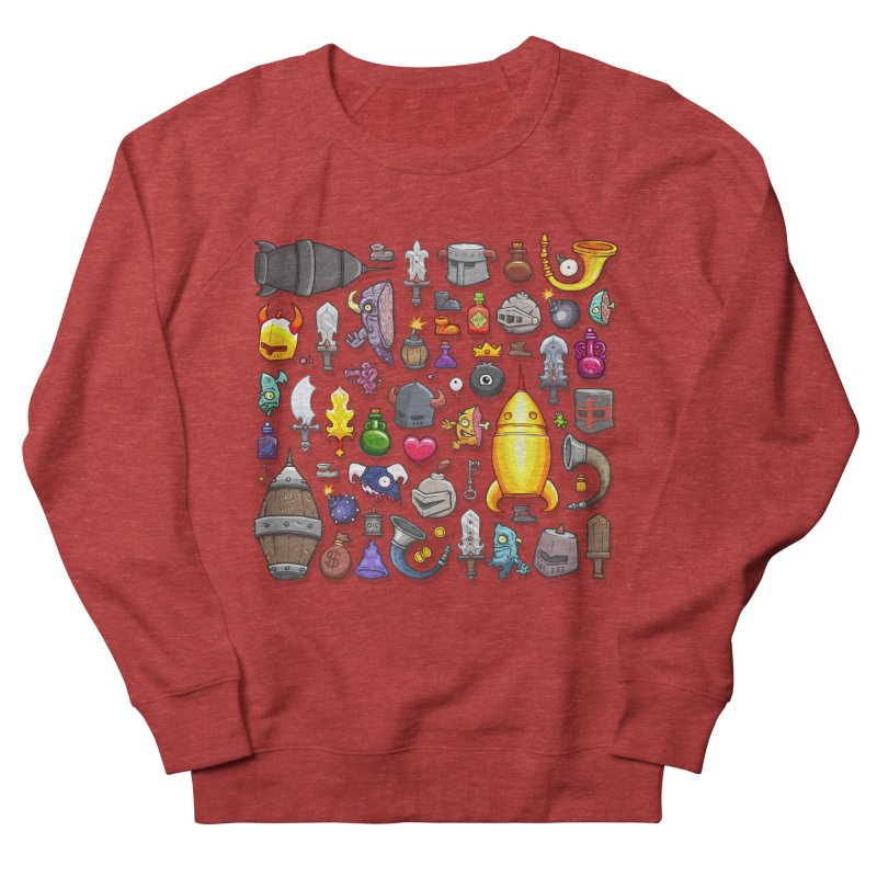 Knightmare Tower - Inventory Women's French Terry Sweatshirt by The Juicy Beast shop!