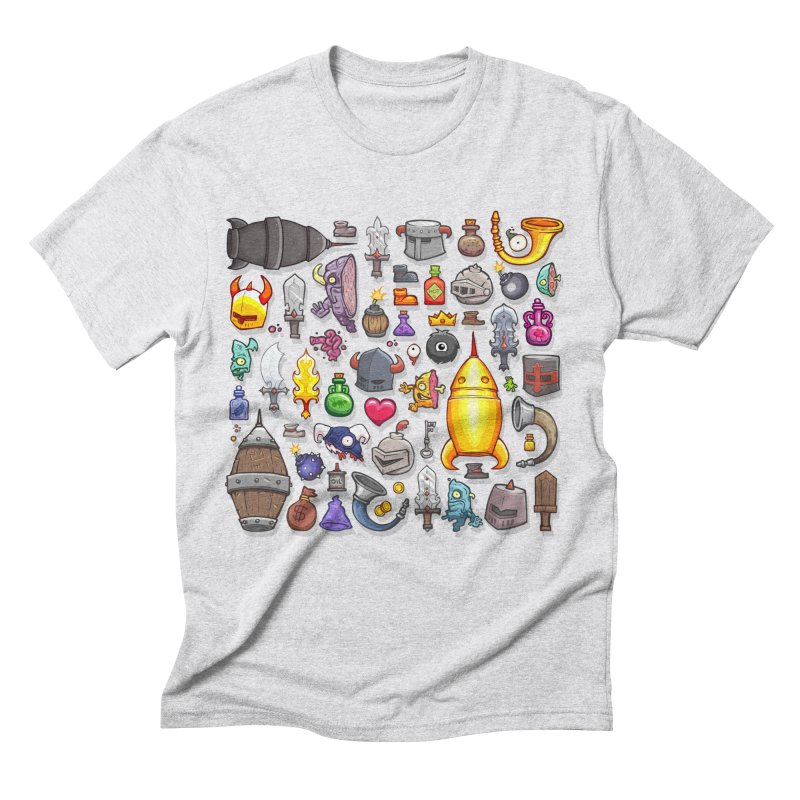 Knightmare Tower - Inventory Men's Triblend T-Shirt by The Juicy Beast shop!