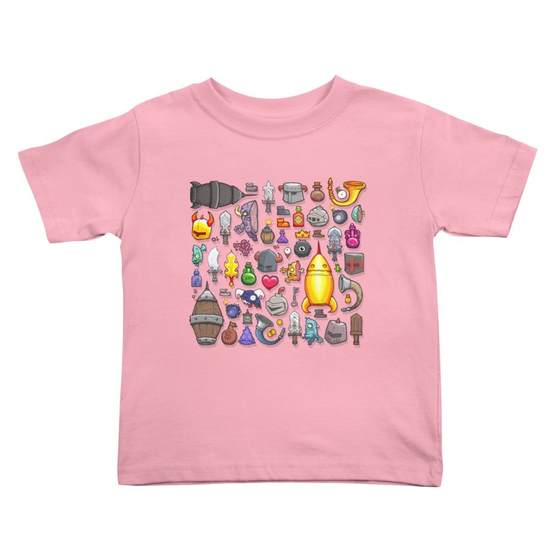 Knightmare Tower - Inventory Kids Toddler T-Shirt by The Juicy Beast shop!