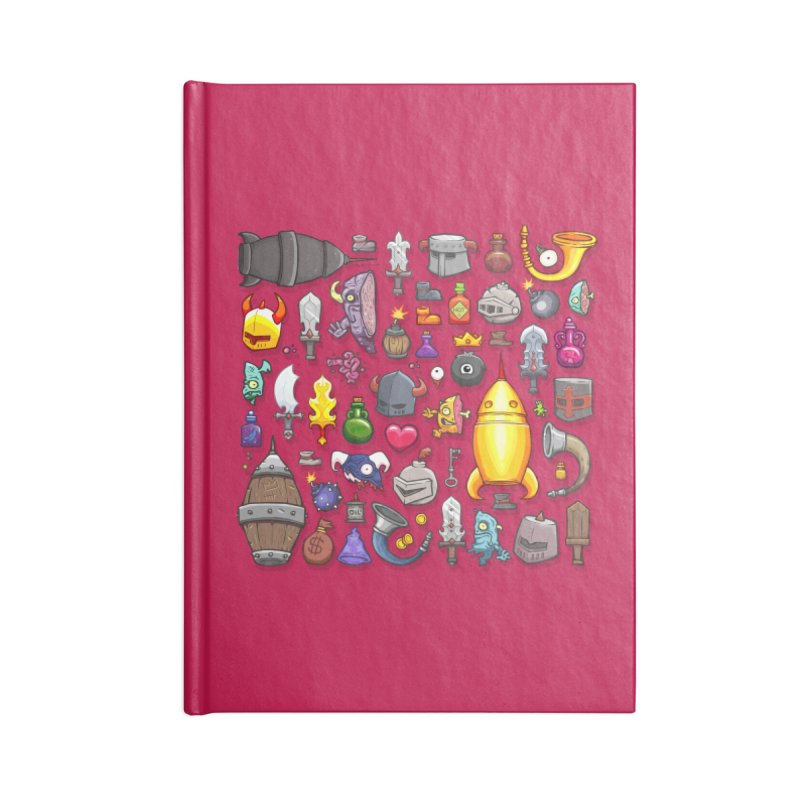 Knightmare Tower - Inventory Accessories Notebook by The Juicy Beast shop!