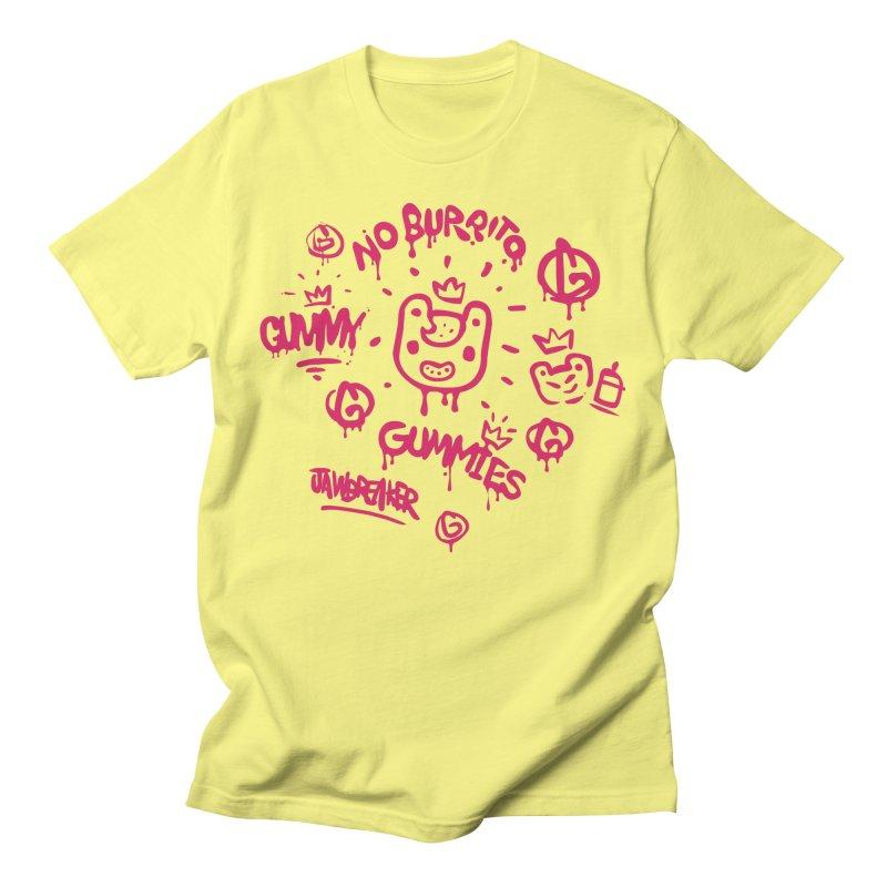 Burrito Bison - NO BURRITO Men's T-Shirt by The Juicy Beast shop!