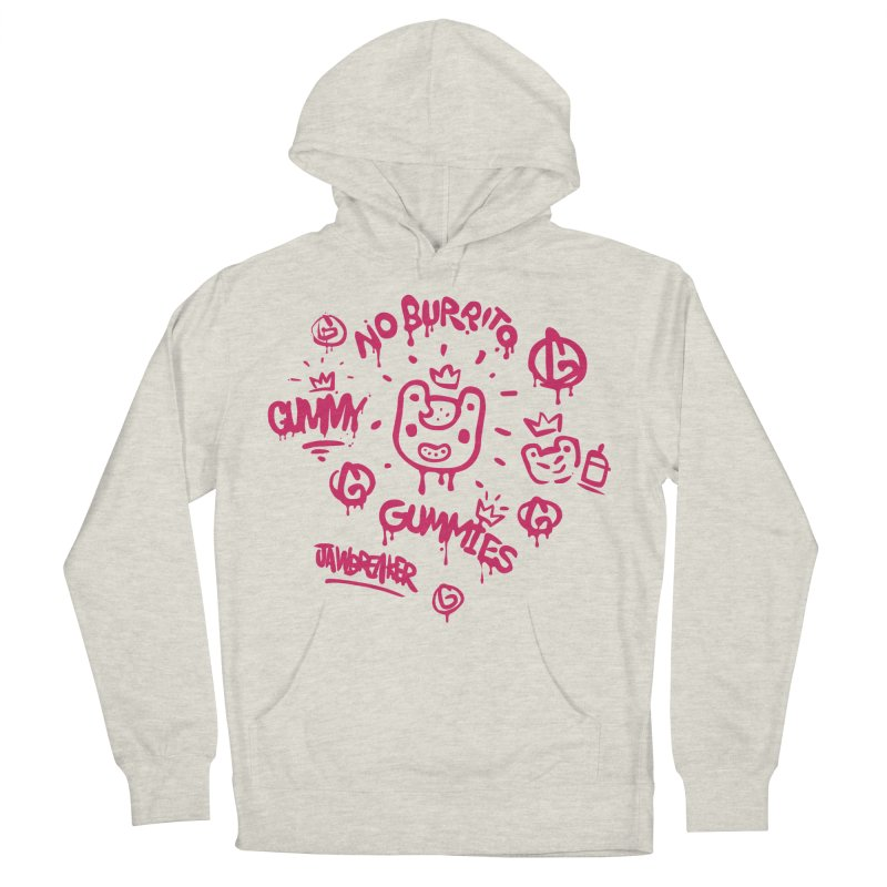 Burrito Bison - NO BURRITO Women's French Terry Pullover Hoody by The Juicy Beast shop!