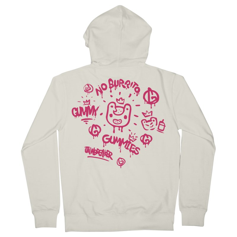 Burrito Bison - NO BURRITO Men's French Terry Zip-Up Hoody by The Juicy Beast shop!