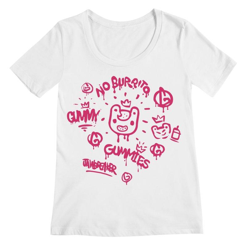 Burrito Bison - NO BURRITO Women's Regular Scoop Neck by The Juicy Beast shop!