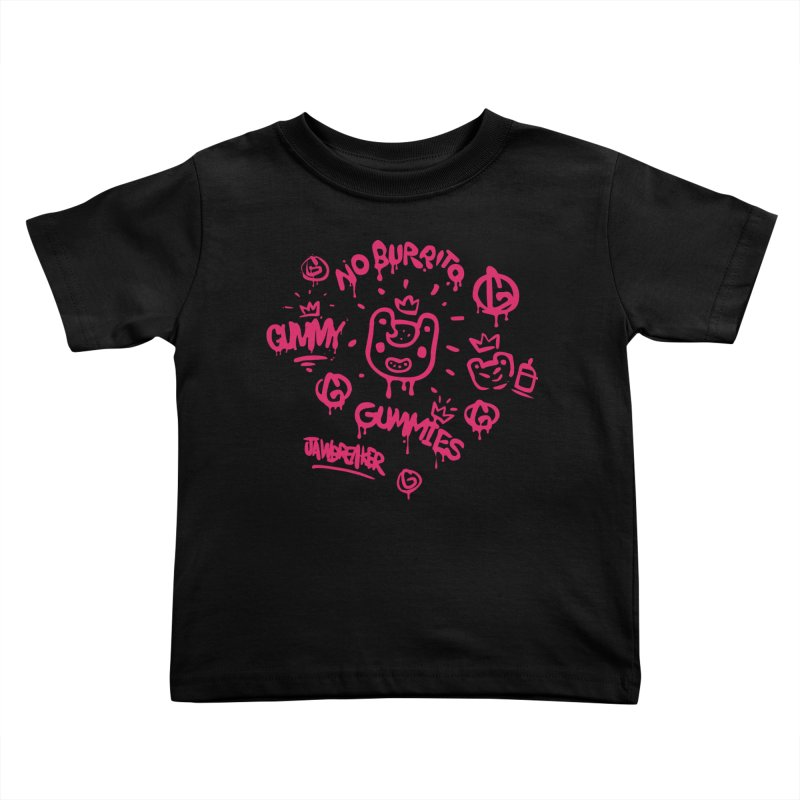 Burrito Bison - NO BURRITO Kids Toddler T-Shirt by The Juicy Beast shop!