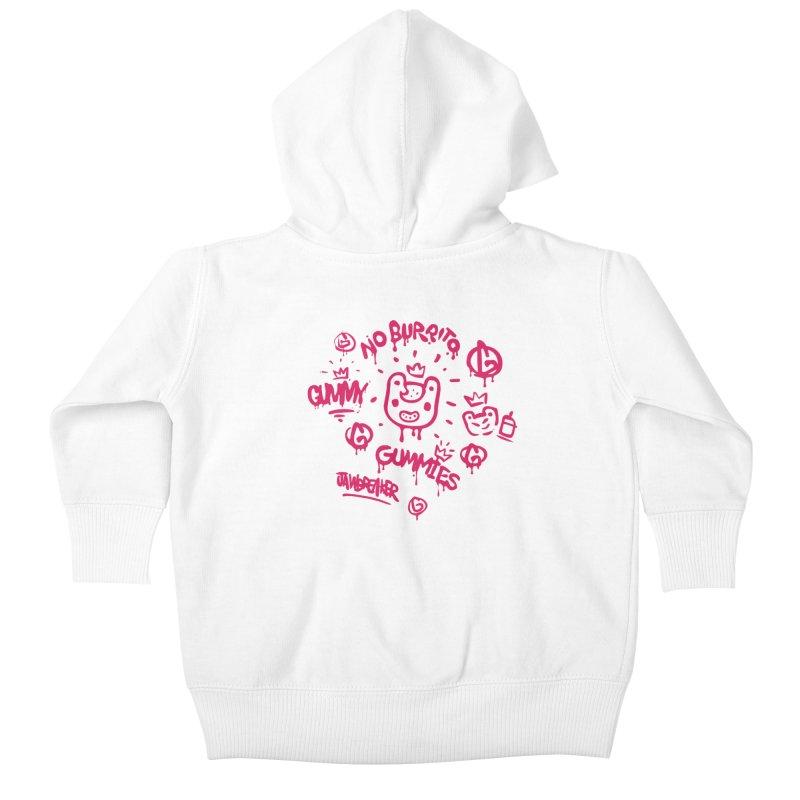 Burrito Bison - NO BURRITO Kids Baby Zip-Up Hoody by The Juicy Beast shop!