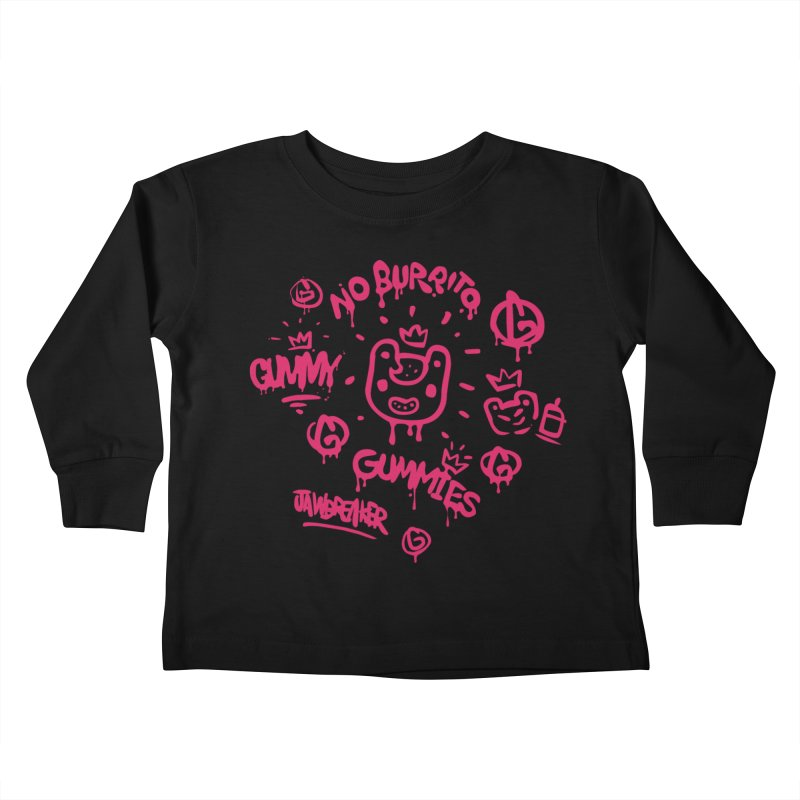 Burrito Bison - NO BURRITO Kids Toddler Longsleeve T-Shirt by The Juicy Beast shop!