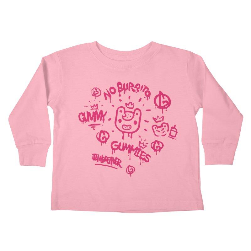 Burrito Bison - NO BURRITO Kids Toddler Longsleeve T-Shirt by The Juicy Beast shop!