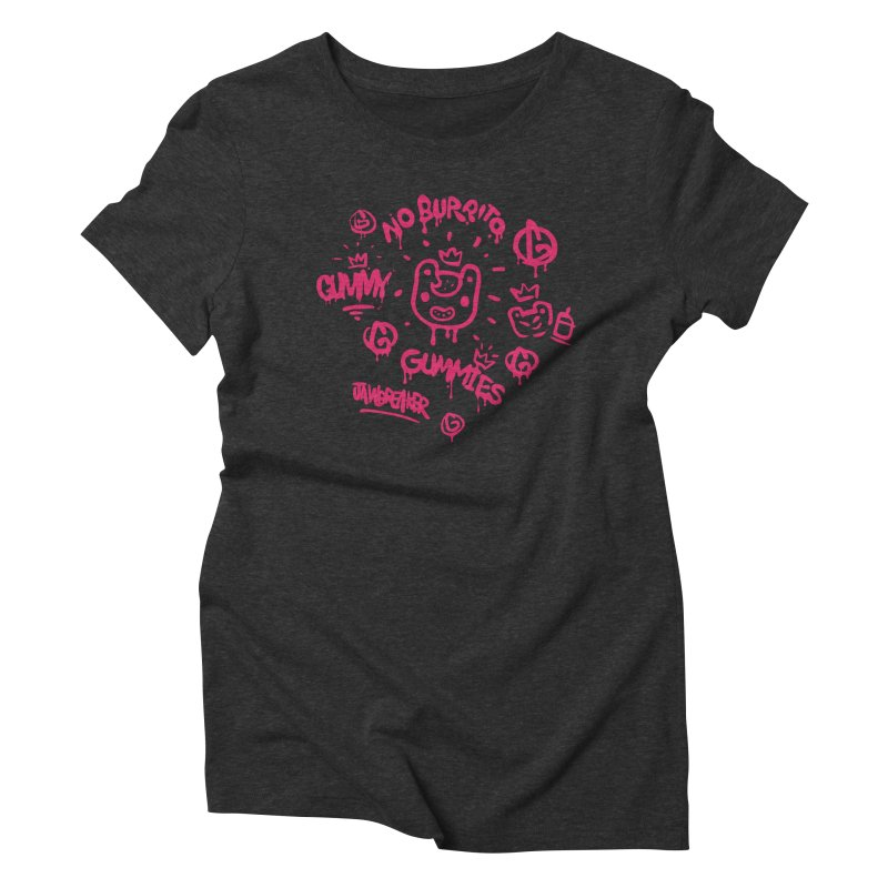 Burrito Bison - NO BURRITO Women's Triblend T-Shirt by The Juicy Beast shop!