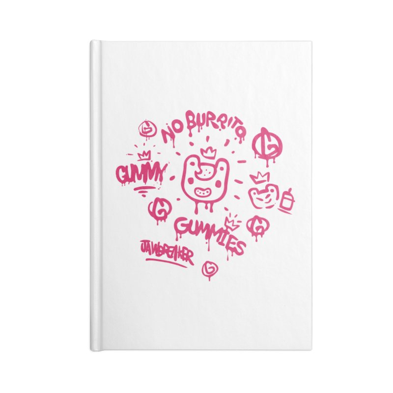 Burrito Bison - NO BURRITO Accessories Notebook by The Juicy Beast shop!