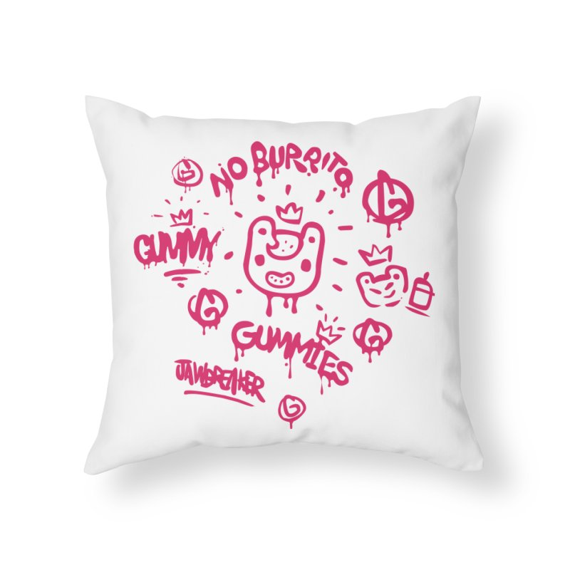 Burrito Bison - NO BURRITO Home Throw Pillow by The Juicy Beast shop!